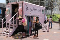Mobile Fashion Boutique On Wheels | Best Fashion Trucks - Mobile Boutiques Trend | Loren's World
