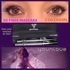 3D Fiber Mascara Vs Cover girl #makeup #cosmetics #mascara #fiber #lash