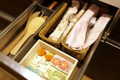 Home Organization Advice from Marie Kondo - The New York Times Contents of one of Ms. Kondo's own drawers