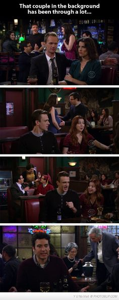 Parallel Story In How I Met Your Mother