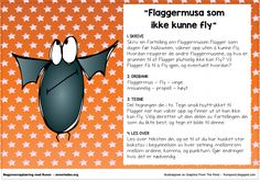 flaggermusasomikkekunnefly Second Grade, Runes, Grammar, Preschool, Classroom, Teaching, Education, Halloween, Children