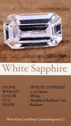 Ceylon Sapphire, Sapphire Stone, Natural Sapphire, White Sapphire, Loose Sapphires, Dream Ring, Natural Gemstones, Instagram Feed