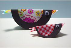 Crafty Column: How to make a retro paper bird