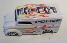 ChrisStanglersCustoms Hot Wheels Custom Dairy Delivery Police Design Car Costume, Hot Wheels, Police, Dairy, Delivery, Design, Law Enforcement, Design Comics