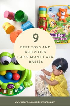 Top 9 Toys and Activities For 9 Month Old Babies « A guide to a beach Babymoon in Wilmington, NC. Take a trip before baby comes. 10 Month Olds, 9th Month, Baby Month By Month, 3 Month Old Toys, 8 Month Baby Toys, 9 Month Old Baby Food, Thing 1, Before Baby, Baby Massage
