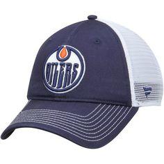91884dd843f Men s Edmonton Oilers Royal Core Trucker Adjustable Snapback Hat