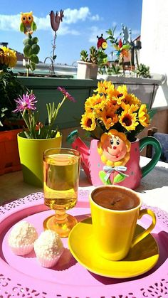 Happy Sunday Friends, Good Morning Coffee, Breakfast Tea, Turkish Coffee, Cafe Food, Coffee Cafe, Good Morning Images, Tea Time, Iphone Wallpaper
