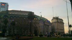 Desde la Plaza de Mayo...