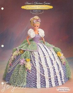 Catherine, Annie's Glorious Gowns Old South Collection crochet patterns