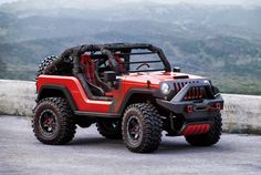 Jacked up and ready to rock, this 2016 Jeep off-roader by designer Igor Dmytrenko is built for action. Now, let's get Jeep to actually build one. Wrangler Pickup, Jeep Wrangler, Jeep Concept, Concept Cars, Badass Jeep, Jeep 4x4, Jeep Cars, Jeep Garage, Auto Jeep