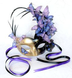 Royal Masquerade Ball Masks | Items similar to Venetian Masquerade Ball Mask Black/Gold with Royal ...