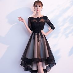 Pretty Lace Short Prom Dress A-Line Black Lace Homecoming Dress sold by lovedres.Pretty Lace Short Prom Dress A-Line Black Lace Homecoming Dress sold by lovedress. Shop more products from lovedress on Storenvy, the home of independent small bu Trendy Dresses, Sexy Dresses, Cute Dresses, Beautiful Dresses, Evening Dresses, Short Dresses, Fashion Dresses, Formal Dresses, Luulla Dresses