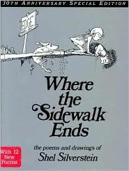 Loudoun County Public Library : Where the sidewalk ends : the poems & drawings of Shel Silverstein. by Silverstein, Shel Best Books To Read, I Love Books, Good Books, Amazing Books, This Is A Book, Up Book, Book Nerd, Book Log, Shel Silverstein Books