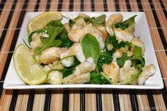 Ricette Secondi piatti estivi Straccetti di pollo limone e rucola