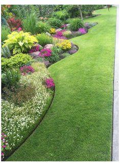 Garden Edging, Garden Paths, Lawn Edging, Garden Types, Garden Beds, Sloped Garden, Garden Shrubs, Terrace Garden, Indoor Garden