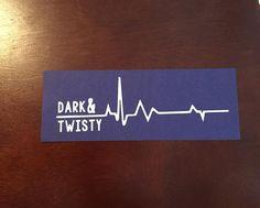 Grey's Anatomy Dark & Twisty Decal