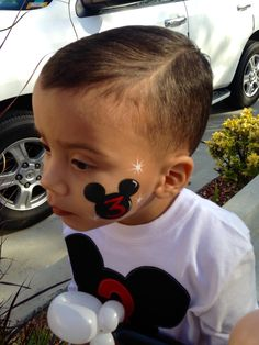 Mickey face painting