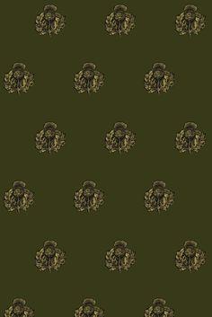 Timorous Beasties Fabric - Little Thistle
