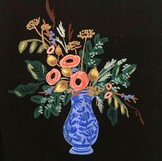 Anna Bond of Rifle Paper Co vase study