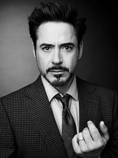 Robert Downey Jr., there's always been something about him.