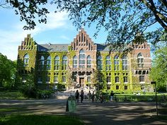 The University Library, Lund, Sweden - living in Lund