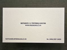 FreemanLLC_Business_Cards_Nathaniel