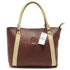 $67.99 Michael Kors Outlet Jet Set Travel Large Brown Satchels  I Should Suggest You To Buy Now!