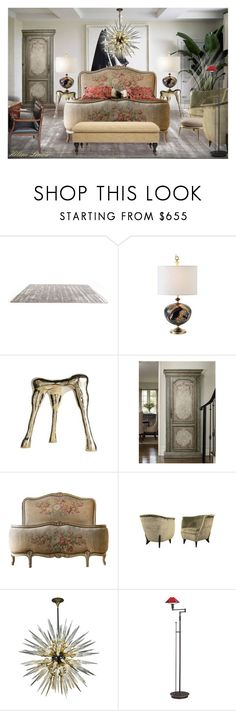 """INT.645"" by helenelenoir ❤ liked on Polyvore featuring interior, interiors, interior design, home, home decor, interior decorating, BYRON, Holtkoetter and Safavieh"