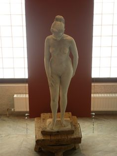 Terra, study in plaster (196-)  www.sofialakis.org