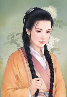 Goddess Of Poison Portraits, Portrait Art, Illustrations, Illustration Art, Art Chinois, Art Asiatique, Devian Art, Beautiful Fantasy Art, Fantasy Paintings