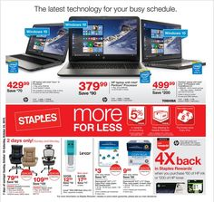 Staples Weekly Ad October 18 - 24, 2015 - http://www.olcatalog.com/electronics/staples-weekly-ad.html