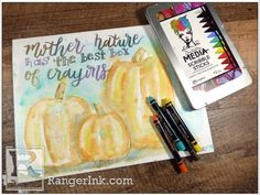 Ranger Ink and Innovative Craft Products Ranger Ink, Crafty Projects, Scribble, Mother Nature, Innovation, Mixed Media, Fairy, Cards, Doodle