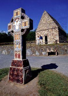 The Irish National Heritage Park, Ferrycarrig, Wexford, Ireland.