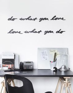 Wall decor - 'Do what you love'