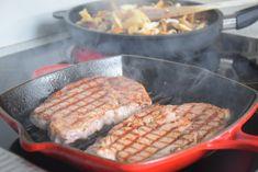 Ostersonntag 2018 (4) Kraut, Grill Pan, Grilling, Vegetables, Food, Rocket Salad, Fungi, Easter, Food Food
