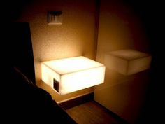 #bedside #tables I comodini luminosi di Denis.