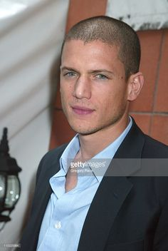 Wentworth Miller during 2005/2006 FOX Prime Time UpFront - Inside Green Room and Party at Seppi's Restaurant and Central Park Boathouse in New York City, New York, United States.