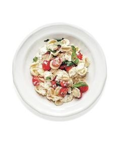 Vegetarian: Creamy Orecchiette With Tomatoes and Chili Oil recipe