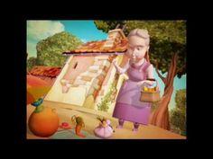 LA CASA DE LA ABUELA  Piloto para una serie de animación para niños basada en el programa de televisión La Botica de la Abuela. En una casa acogedora, rodeada de una espléndida huerta, vive La Abuela, gran conocedora de los remedios caseros para las dolencias más habituales. Sus amigos son unas divertidas hortalizas, verduras, frutas y flores, además de El Jarrón, con sus poderes mágicos, que protagonizan un sinfín de aventuras.
