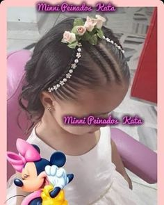 Little Girl Hairstyles, Easy Hairstyles, Little Girls, Hair Styles, Lima, Yuri, Frozen, Fashion, Plaits Hairstyles