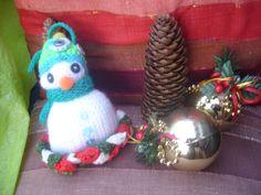 Petit bonhomme de neige création pour Noel : Accessoires de maison par jodestyl