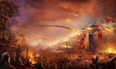 Chinese siege, War of the Three Kingdoms