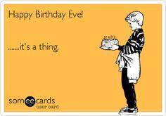 Happy Birthday Eve!