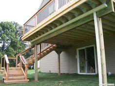 Best Trex Rain Escape Under Deck Drainage System With Gutter In 400 x 300