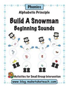 Build A Snowman- Alphabet