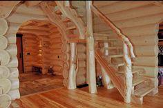 scale interne in legno rustiche - Cerca con Google