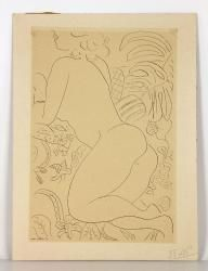 Matisse, Reclining Nude Etching 20th C. Modern Design and Fine Art Auction | Kaminski Auctions