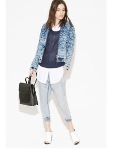 NEW One By One Teaspoon Fiasco Blue Dundees Baggy Jeans 25(0) OR 26 (2) JOGGER