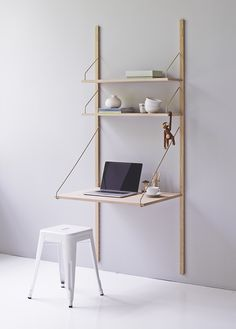 or the play room, pull down drawing desk.   royal system worktable barefootstyling.com