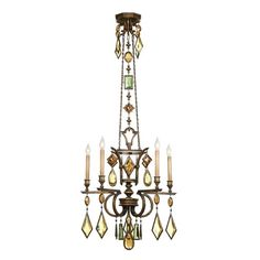 Shop Fine Art Lamps  5 Light Encased Gems Chandelier at ATG Stores. Browse our chandeliers, all with free shipping and best price guaranteed.